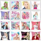 Jojo Siwa Cute Girl 18 Inch Office Sofa Cushion Cover Pillowcase image