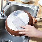 2pcs Kitchen wire sponge double-sided decontamination scouring cleaning brush