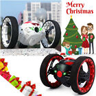 Leaping Dragon Wireless Remote Control Bounce Auto 2.4G RC Jumping Car LED R3K8