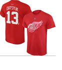 NHL Detroit Red Wings #13 Datsyuk Hockey Shirt New Mens Sizes $15.0 USD on eBay