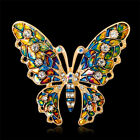 Butterfly Brooch Pin for Women Jewelry Crystal Insect Fashion Woman Girl Vintage