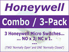 Microwave Oven Door Interlock/Monitor Micro Switch - Singles and 3-Pack / Combo photo