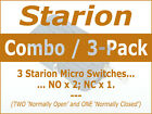 Microwave Oven Door Interlock/Monitor Micro Switch - Singles and 3-Pack photo