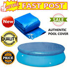 8/10/12Ft SWIMMING POOL COVER Round Family Paddling Fast Set Garden Pools Top