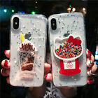 Creative Glue Phone Case for iPhone XR Cartoon Back Cover for iPhone XS X 8 Plus $13.99  on eBay