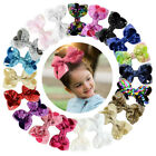 3 inches Sequin Hair Clips For Girls Kids Hair Bows Shining Barrettes Hairpins