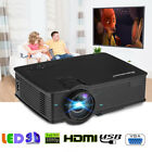 7000 Lumens Portable Mini Projector HD 1080P Home Theater Cinema HDMI VGA SD AV