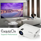 7000 Lumens Portable Mini Projector HD 1080P Home Theater Cinema USB VGA SD AV