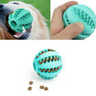 Rubber Ball Chew Treat Dispensing Holder Pet Dog Puppy Cat Teeth Training Toys