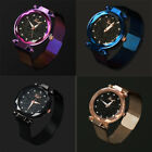 Luxury Women Starry Sky Watch Magnet Strap Buckle Fashion Star Watch Lover Gifts image