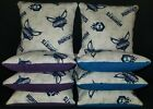 Set Of 8 Charlotte Hornets Cornhole Bean Bags FREE SHIPPING on eBay