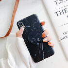Marble Soft Case Pop Up Scrub Phone Holder for iPhone X XR XS MAX 6 7 8 Plus