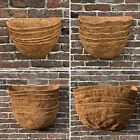 Planter Basket Liners Coco for Hanging Baskets Garden Window Box Plant Pot