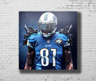 Detroit Lions Calvin Johnson Hot baseball Player 24x24 27x27 Fabric Poster E-229 $8.61 USD on eBay