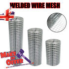Welded Wire Mesh Galvanised Fence 1x1 Inch Aviary Rabbit Hutch Chicken Coop Pet