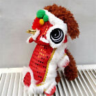 Puppy Dog Pet Shirt Chinese New Year Red Cosplay Costume Dog Winter Warm Clothes