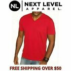 Next Level Men's Premium Sueded V-Neck T-shirt  Solid Vee Neck Tee XS-2XL 6440 image