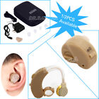 UK Rechargeable ITE/BTE Hearing Aid Deaf Hearing Assistance Ear Care Tools