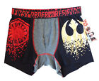 Star Wars Men's (Medium) vs Resistance Boxer Briefs Lounge Shorts-FUN! $8.77 USD on eBay