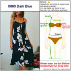 UK Womens Holiday Strappy Button Pocket Ladies Summer Beach Midi Swing Sun Dress <br/> ❤ Best Quality Fast Shipping ❤ UK STOCK ❤Easy Return