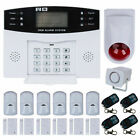 Wireless DIY GSM SMS Home House Intruder LCD Security Burglar Alarm Systems Kit