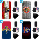 Florida Panthers Leather Case For iPhone X Xs Max Xr 7 8 Plus Galaxy S9 S8 $4.99 USD on eBay