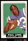 1964 Topps #165 Paul Lowe Chargers EX $35.0 USD on eBay