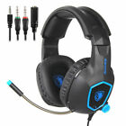 SADES PS4 Gaming Headset Xbox One PC Headphone 3.5mm Earphone Stereo Sound w Mic