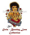 ELVIS - BURNING LOVE COLLECTION - MACHINE EMBROIDERY DESIGNS ON CD OR USB