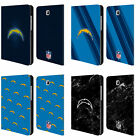 OFFICIAL NFL 2017/18 LOS ANGELES CHARGERS LEATHER BOOK CASE FOR SAMSUNG TABLETS $36.95 USD on eBay