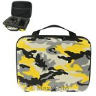CUSTODIA BORSA BAG ACTION CAM GOPRO MILITARY CAMOUFLAGE DESERT GIALLO 0006B8A