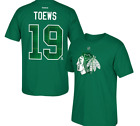 NHL Chicago Blackhawks #19 TOEWS St Patrick's Day Hockey Shirt New Mens $28 $12.00 USD on eBay