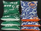 Set of 8 New York Mets Jets Cornhole Bags ***FREE SHIPPING*** on Ebay