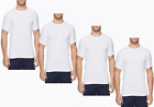 Tommy Hilfiger 4 Pack 100% Cotton Classic Crew Neck Undershirt 09TCR06100 White