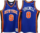Latrell Sprewell New York Knicks Hardwood Classics Throwback NBA Swingman Jersey on eBay