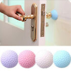 3 Piece Solid Door Handle Crash Pad Metope Colorful Rubber Anti Collision Useful