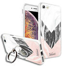 Personalised NAME MARBLE Back Case+Phone Ring Stand for Various Models- 3256