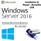 WINDOWS SERVER 2016 EDITION[Standard & Datacenter Core][64GB USB 64 Bit]