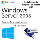 WINDOWS SERVER 2008 EDITION[Standard & Datacenter Enterprise][64GB USB 64 Bit]