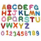 Letters Fridge Magnetic Sticker Spelling Alphabet Kids Educational Preschool