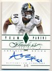 ANTONIO BROWN 2014 PANINI FLAWLESS EMERALD AUTOGRAPH STEELERS AUTO SP #2/5 $400+