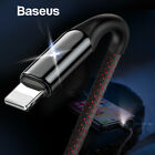 Baseus X Lighting USB Charger Cable for iPhone X 8 2.4A Fast...