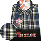 Warrior UK England Button Down Shirt LIP-UP Hemd Slim-Fit Skinhead Mod