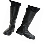 Xcoser Kylo Boots Deluxe Film Cosplay Adult Black PU Top Shoes SW Cost