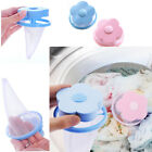 Внешний вид - 1PCS Washing Machine Laundry Bag Home Floating Lint Hair Catcher Mesh Pouches