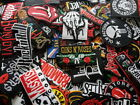 Logo Band Punk Rock Heavy Metal Embroidered Patch Iron Sew on jacket hat bag#002