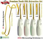 Tooth Luxating Instruments Set Dental Surgical Elevators Root Extraction Forceps