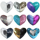 1/2/4pcs Glitter Reversible Sequins Cushion Throw Pillow Cover Sofa Pillowcase image