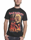 Official Iron Maiden T shirt book of souls trooper killers tour band logo mens