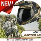 Scorpion ADX-1 Battleflag Helmet│Adventure Flip Front Motorcycle/ Bike│All Sizes